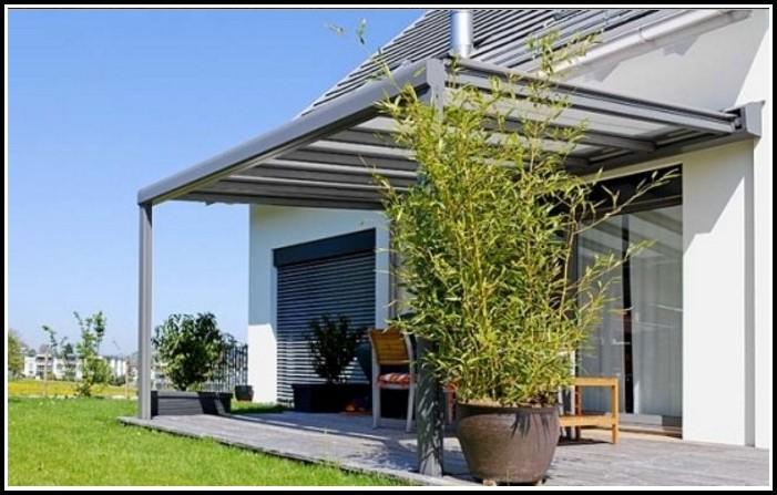 Terrassenüberdachung Kunststoff Glas