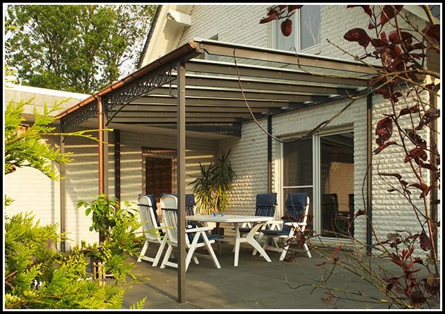 Terrassenüberdachung Schmiedeeisen