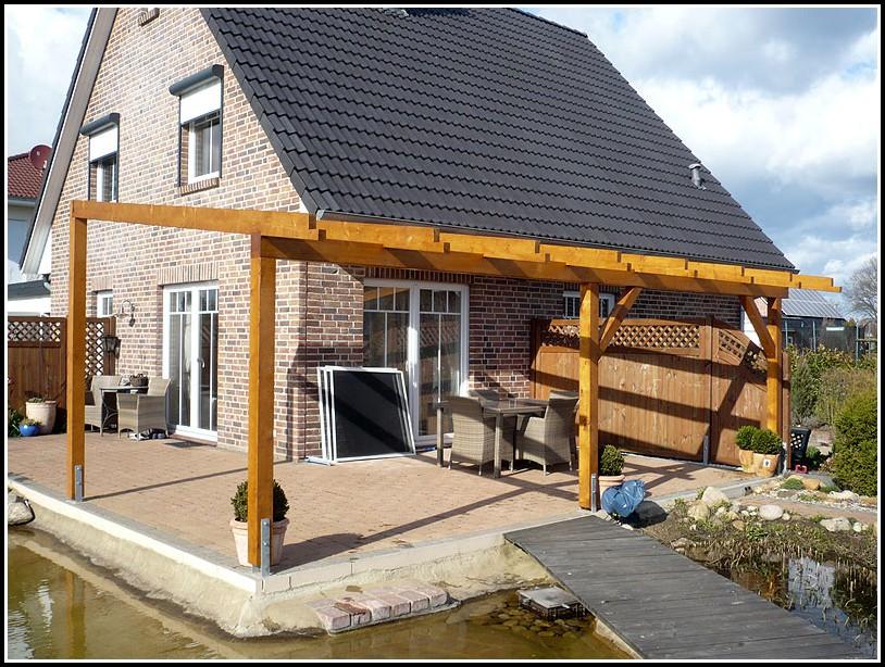Terrassenüberdachung Selber Bauen Aus Holz