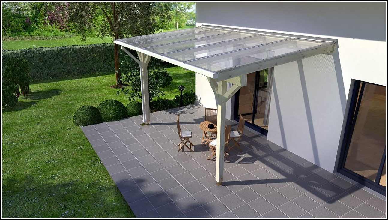 Terrassenüberdachung Selber Bauen Bauanleitung