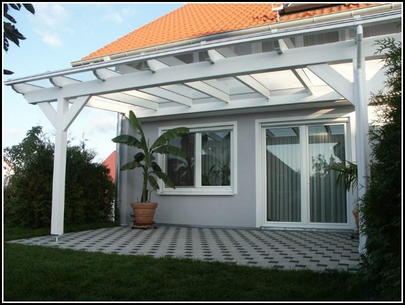 Terrassenüberdachung Selber Bauen Glas
