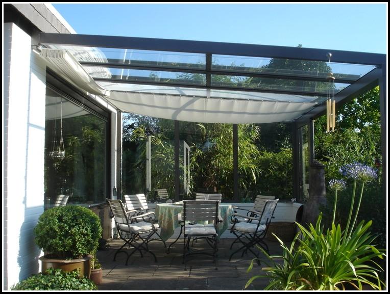 Terrassenüberdachung Sonnenschutz Elektrisch