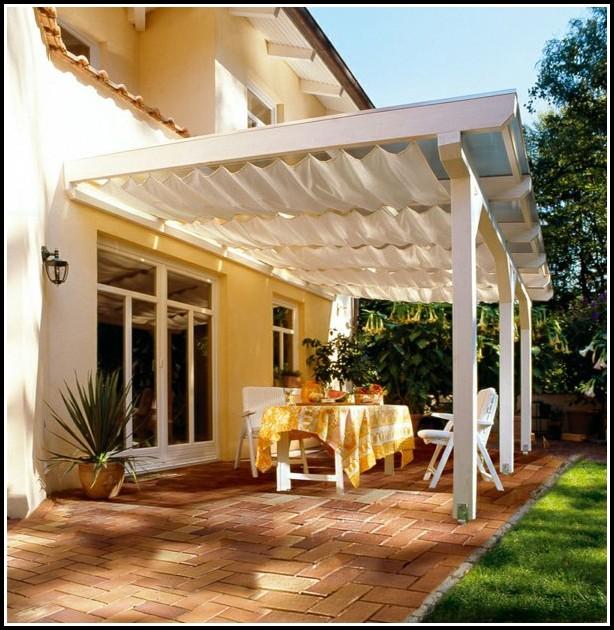 Terrassenüberdachung Sonnenschutz Sonnensegel Sichtschutz