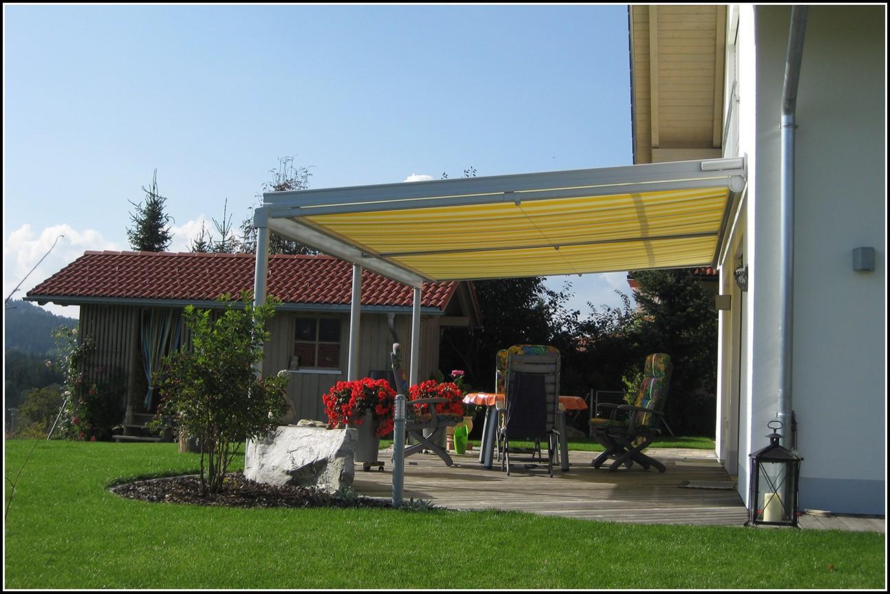 Terrassenüberdachung Sonnenschutzfolie