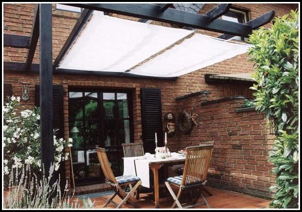 Terrassenüberdachung Sonnensegel Sonnenschutz