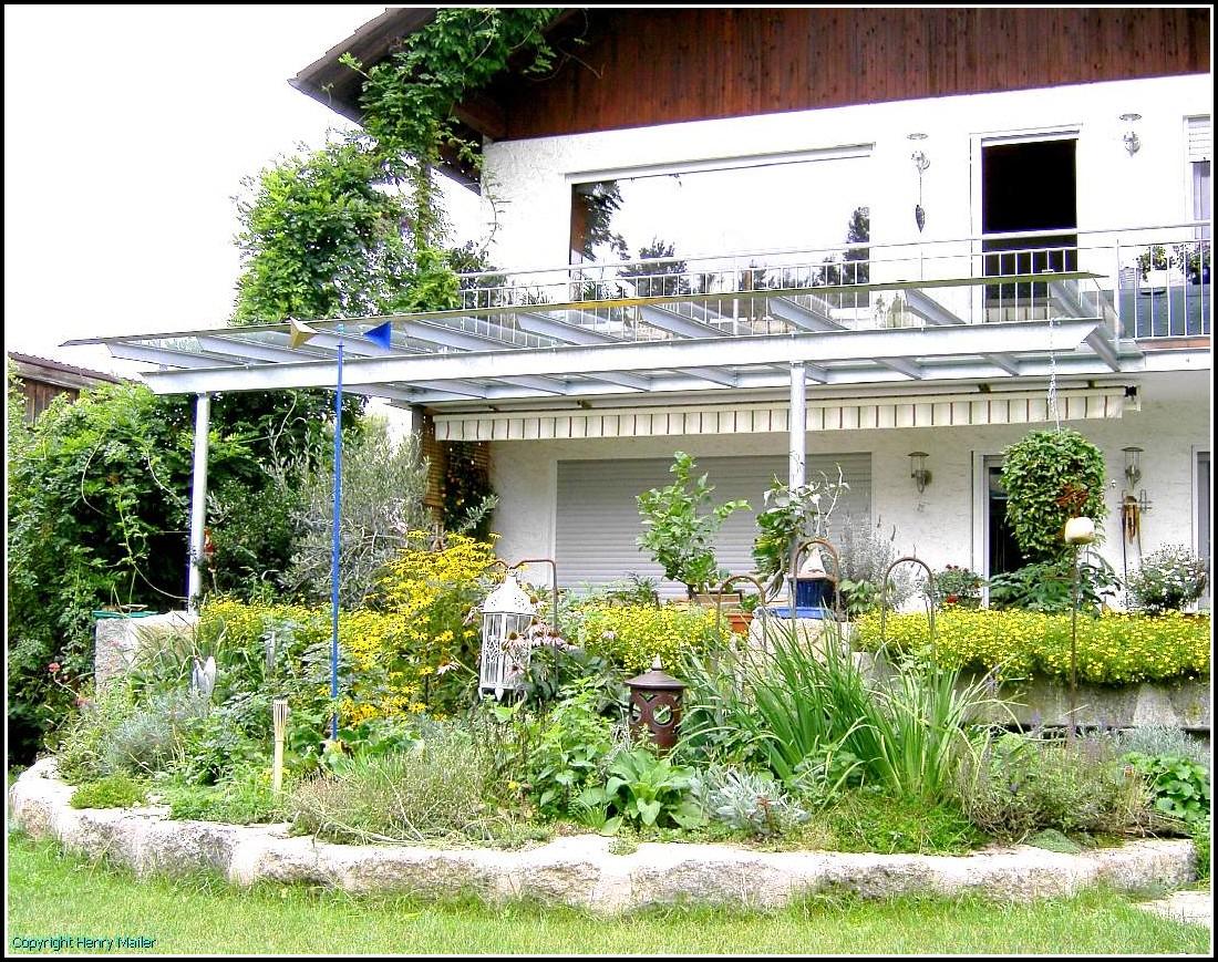 Terrassenüberdachung Stahl Verzinkt Bausatz