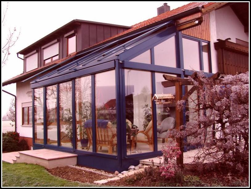 Terrassenüberdachung Wintergarten Aluminium