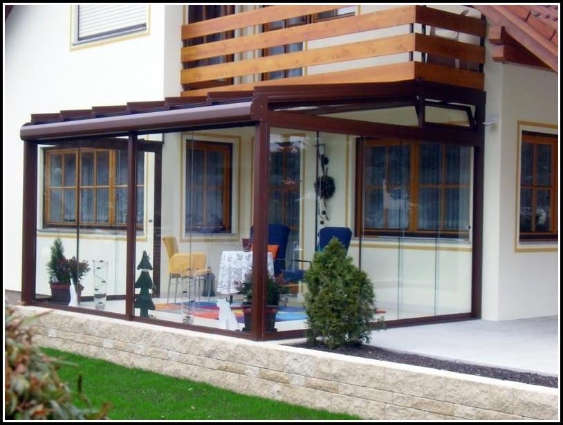 Terrassenüberdachung Wintergarten Unterschied