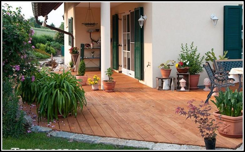 Terrassen Aus Holz Ideen