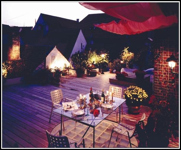 Terrassen Deko Ideen