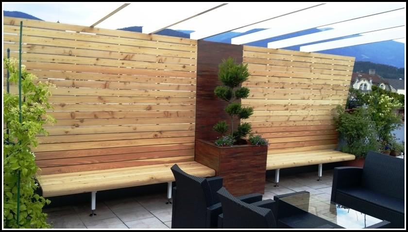 Terrassen Geländer Holz