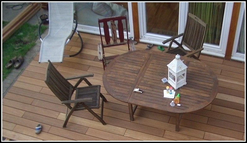 Terrassen Holz Verlegen