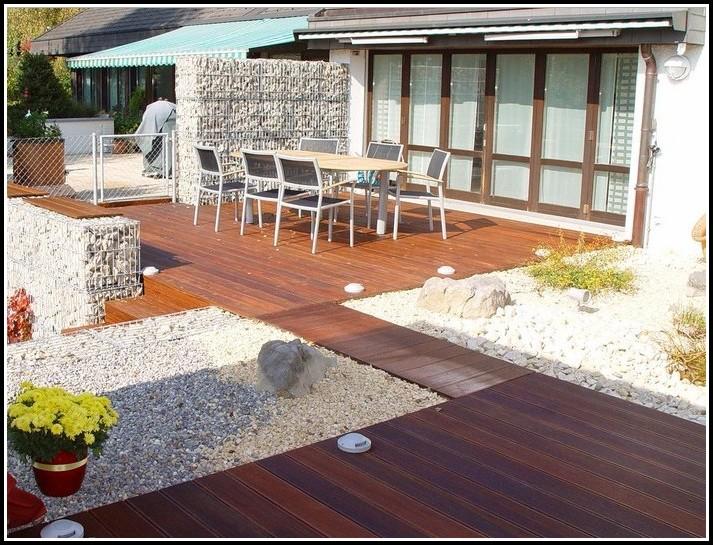 Terrassen Mit Holz Gestalten