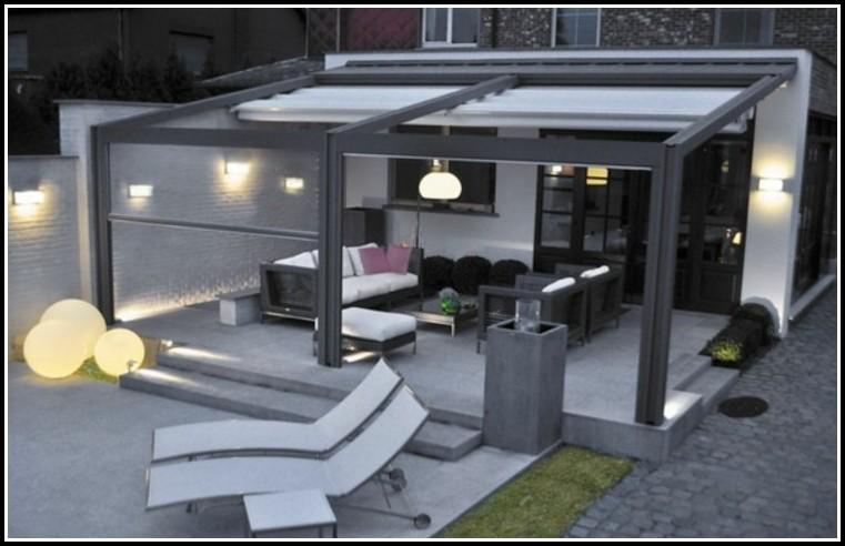 Terrassen Pergola Metall