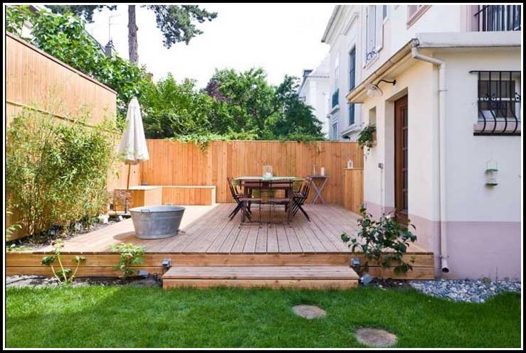 Terrassen Sichtschutz Aus Holz