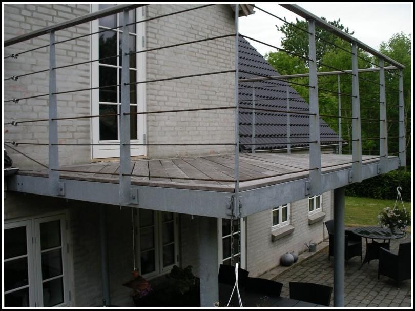 Terrassen Stahlbau