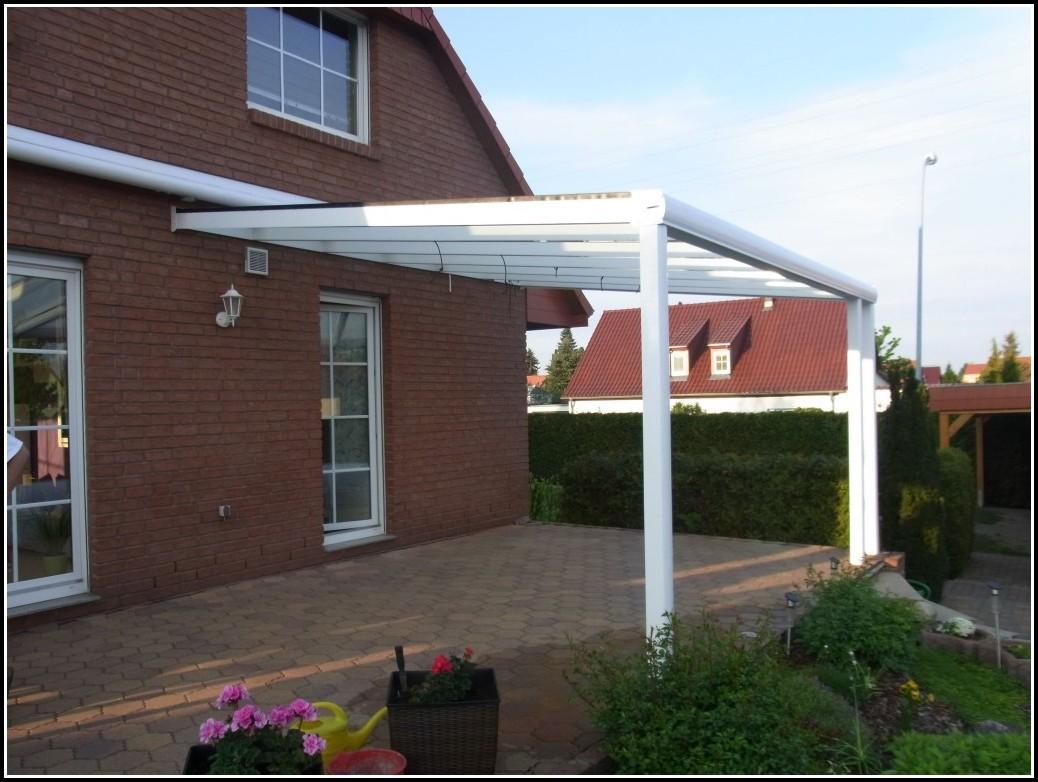 Terrassenberdachung Aluminium