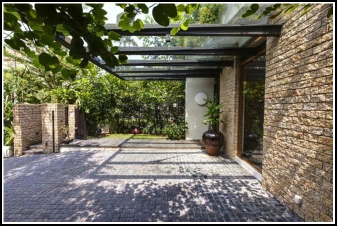 Terrassenberdachung Aus Glas