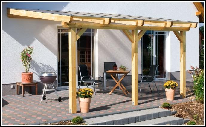 Terrassenberdachung Mit Stegplatten