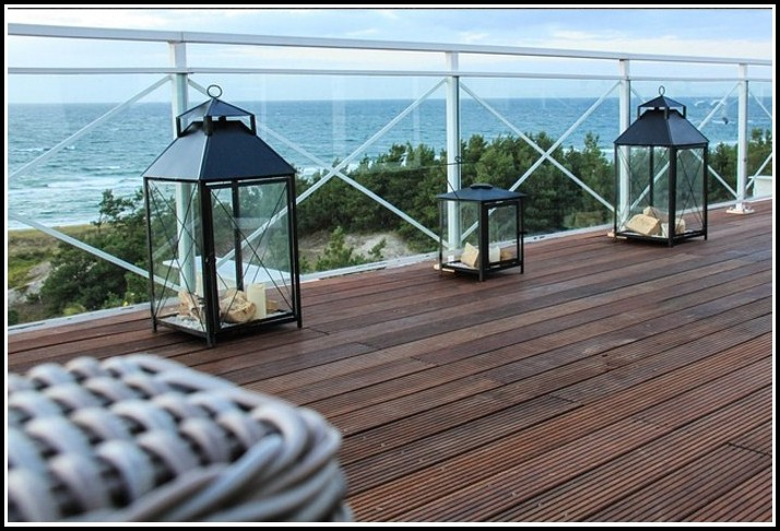 Terrassendcher Aus Aluminium
