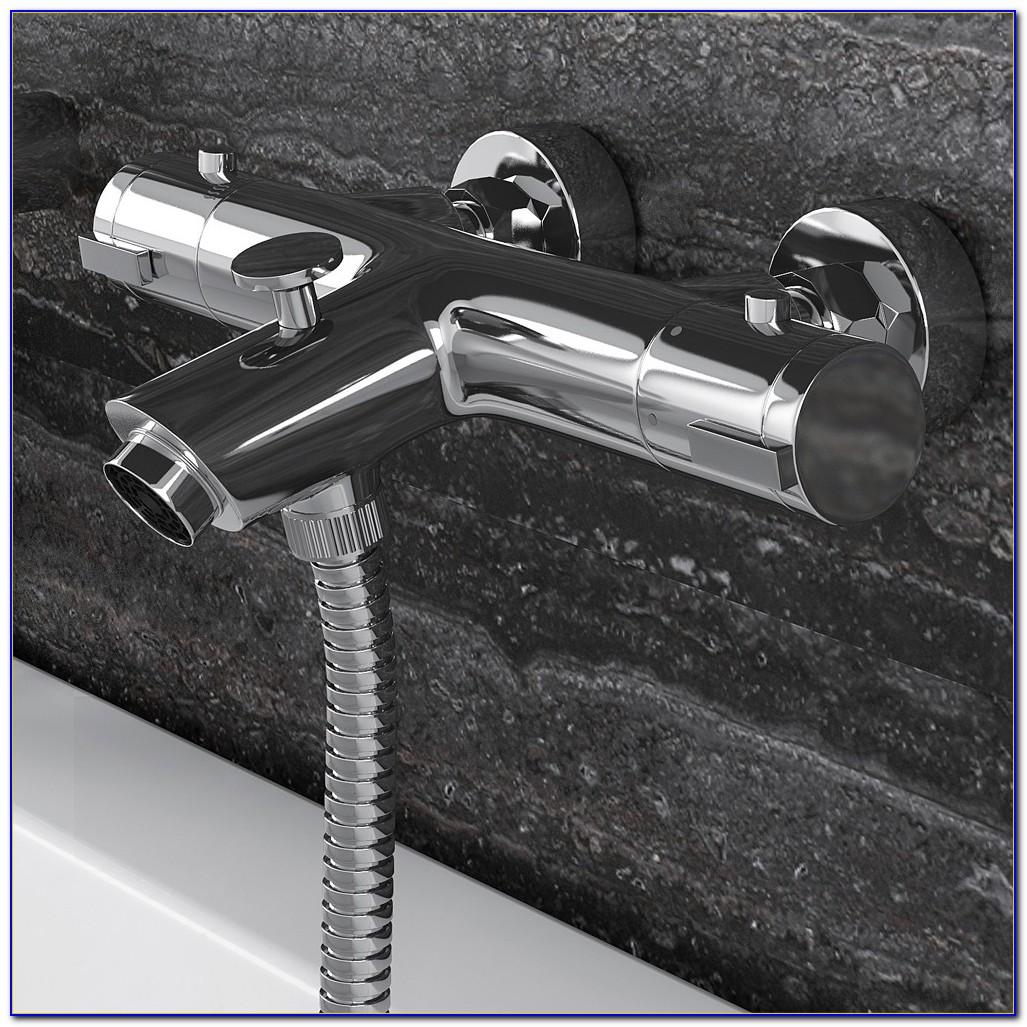 Thermostat Badarmatur Badewannenarmatur Wasserhahn Grünblatt