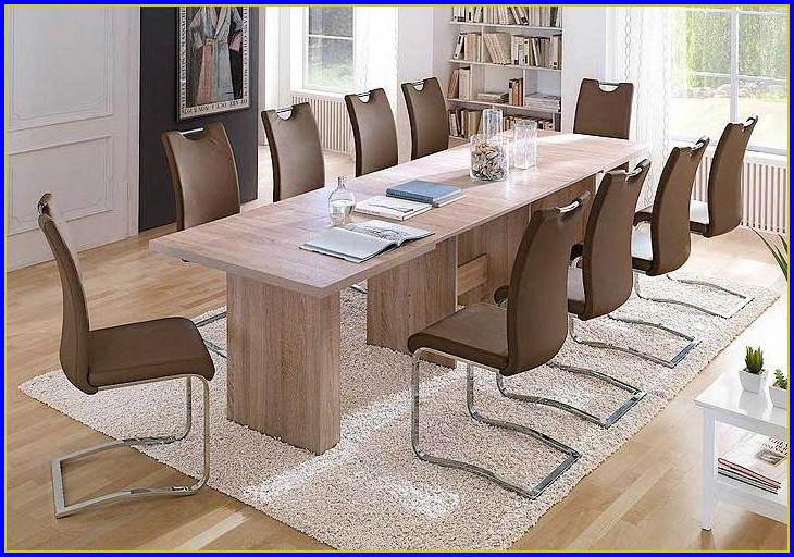 Tisch 90×90 Ausziehbar Glas