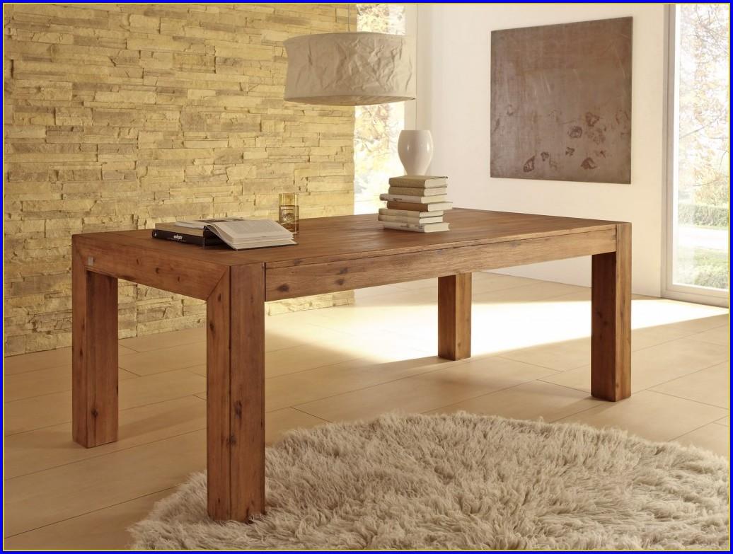 Tisch Akazie Ausziehbar