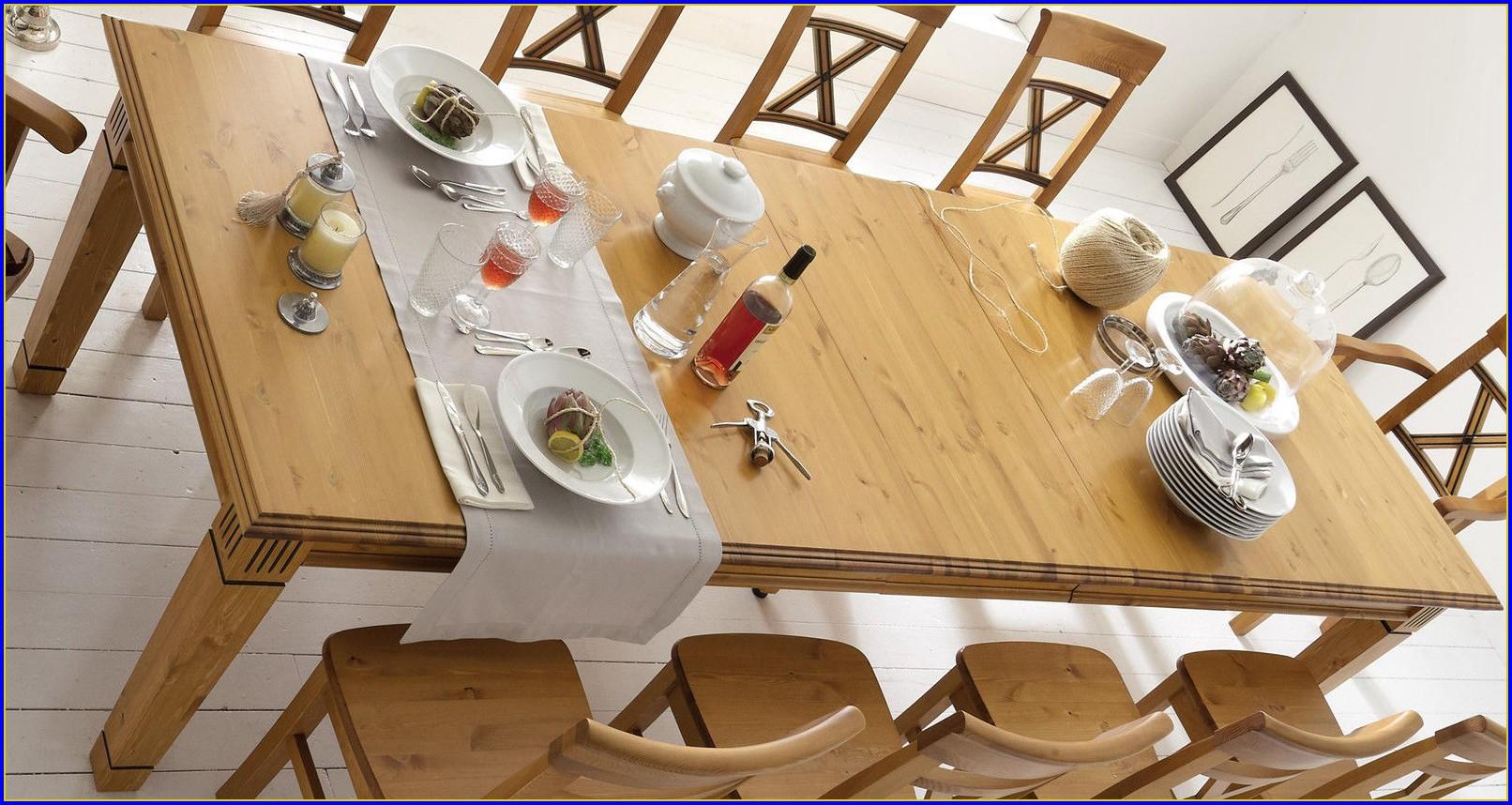 Tisch Ausziehbar Massivholz