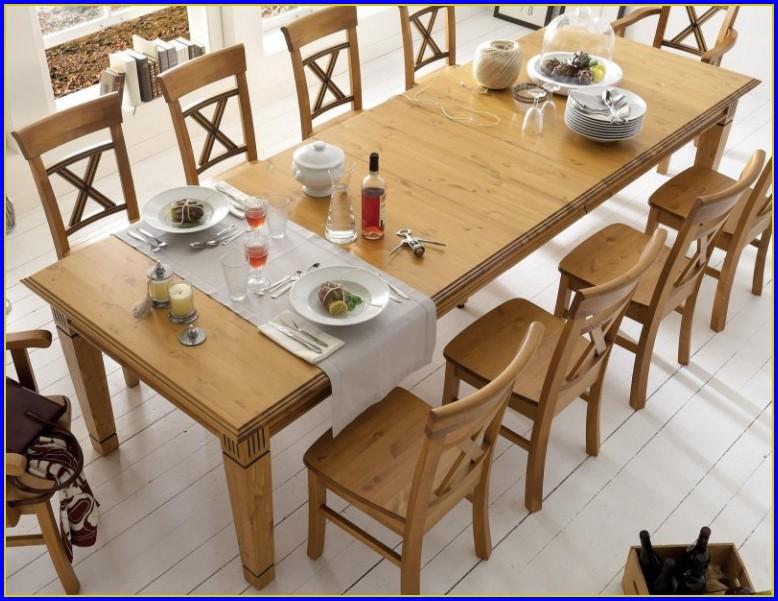 Tisch Kiefer Ausziehbar