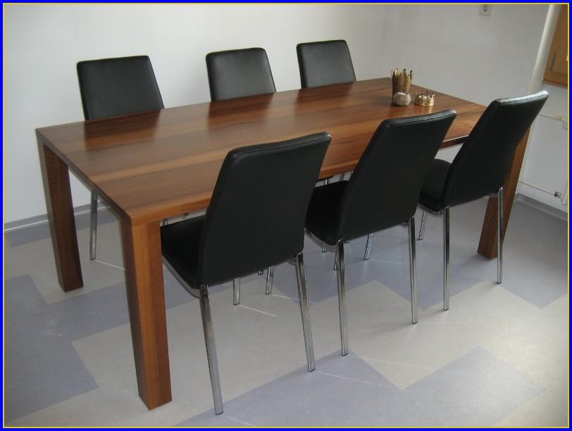 Tisch Massiv Nussbaum