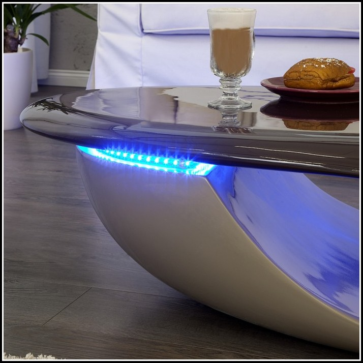 Tisch Mit Led Beleuchtung