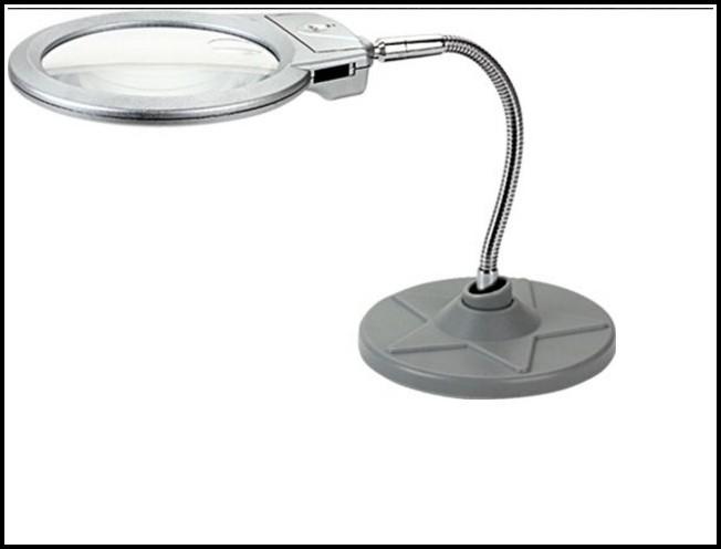 Tischlupen Mit Beleuchtung