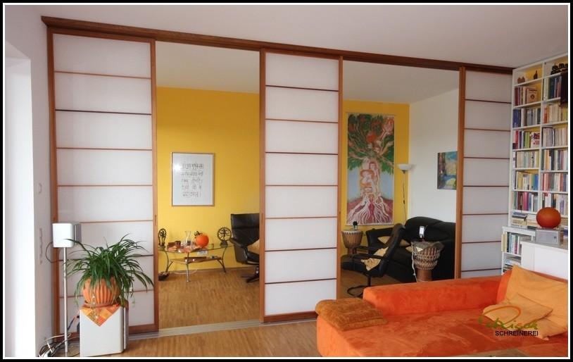 Trennwand Wohnzimmer Bauen