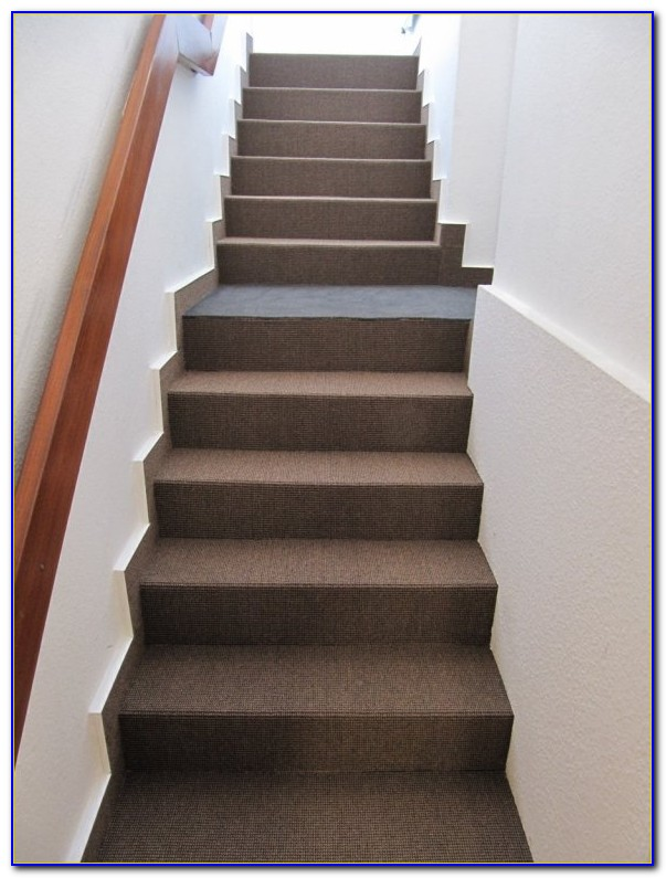 Treppen Teppich Verlegen