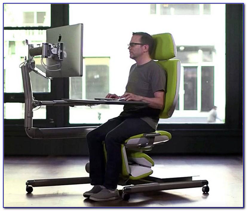 Verstellbarer Schreibtischstuhl