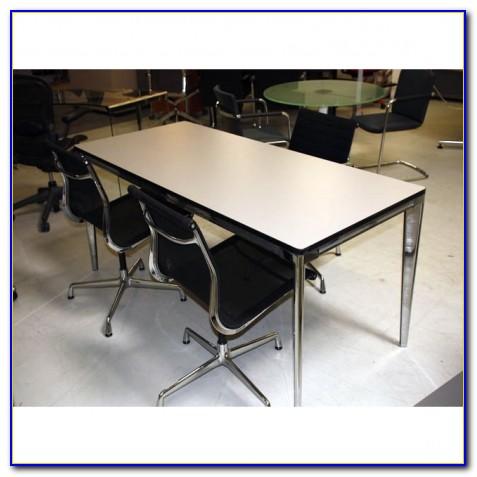 Vitra Schreibtisch Höhenverstellbar