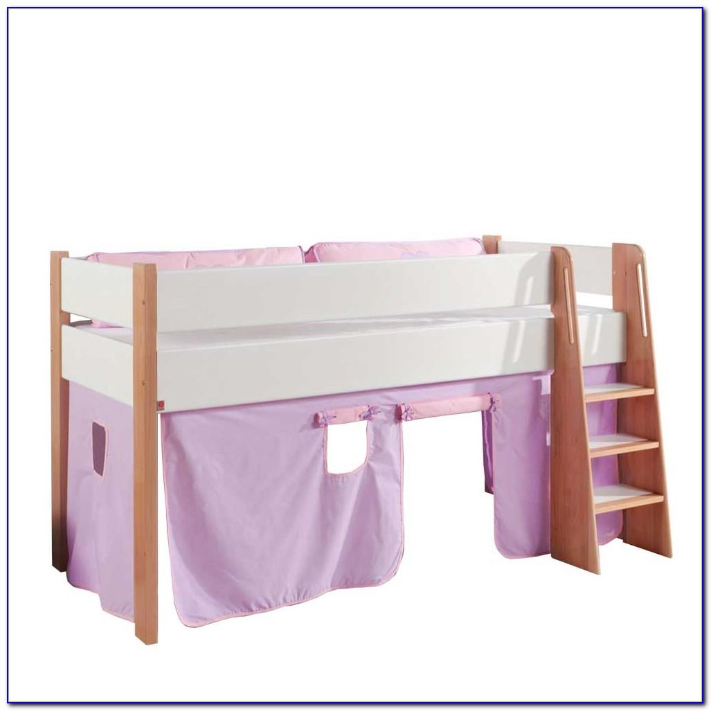 Vorhänge Kinderbett