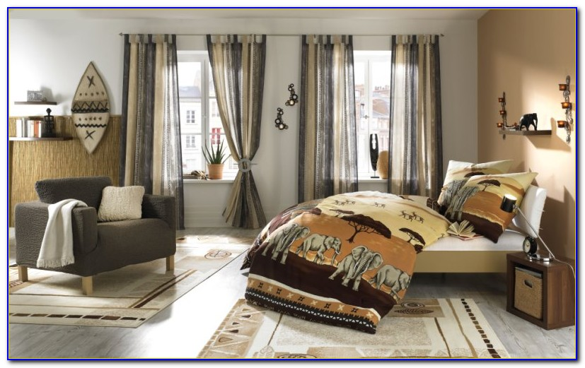 Vorhang Afrika Style