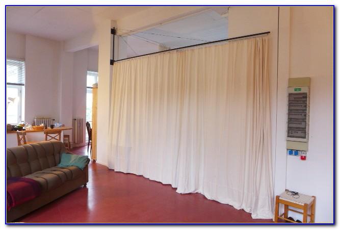 Vorhang Als Raumteiler Befestigung