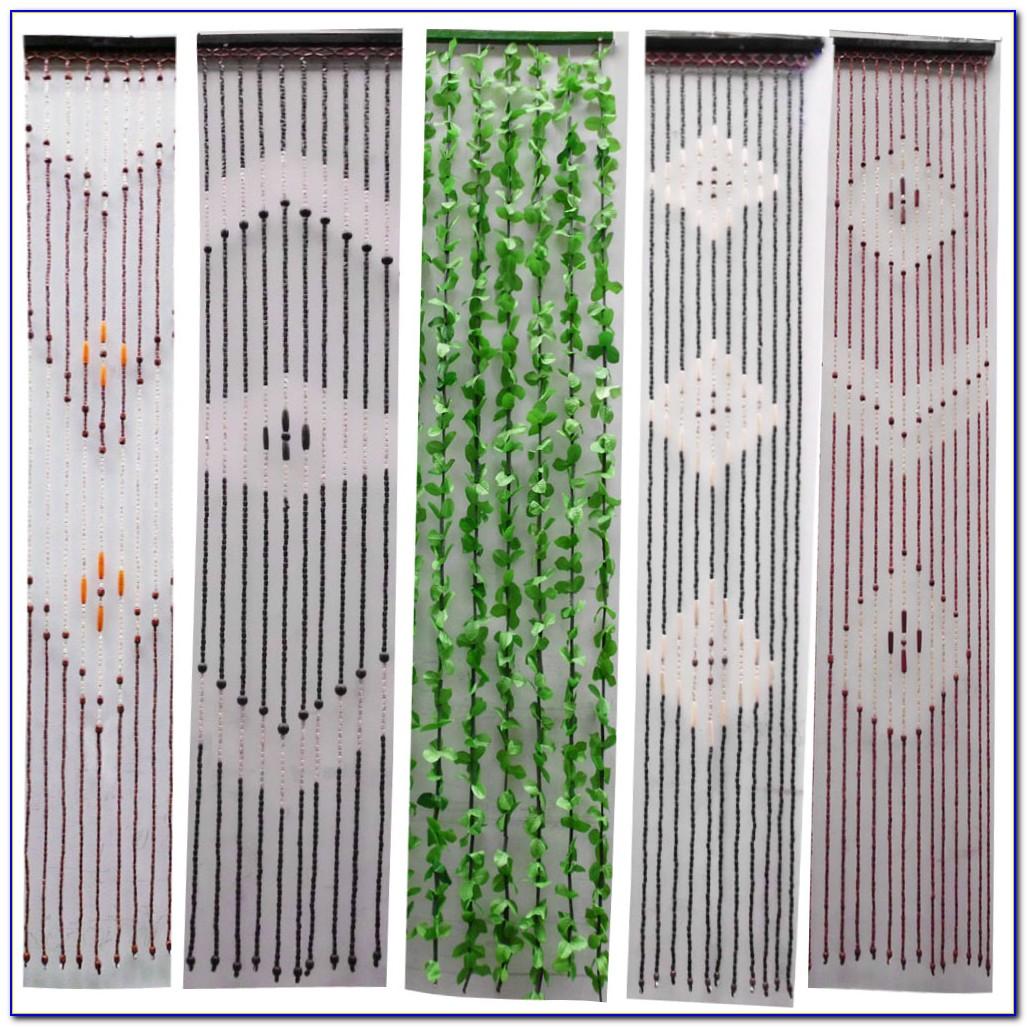 Vorhang Bambus Motiv