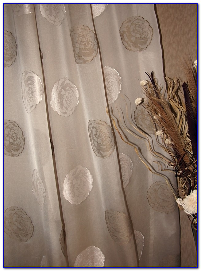 Vorhang Beige Muster
