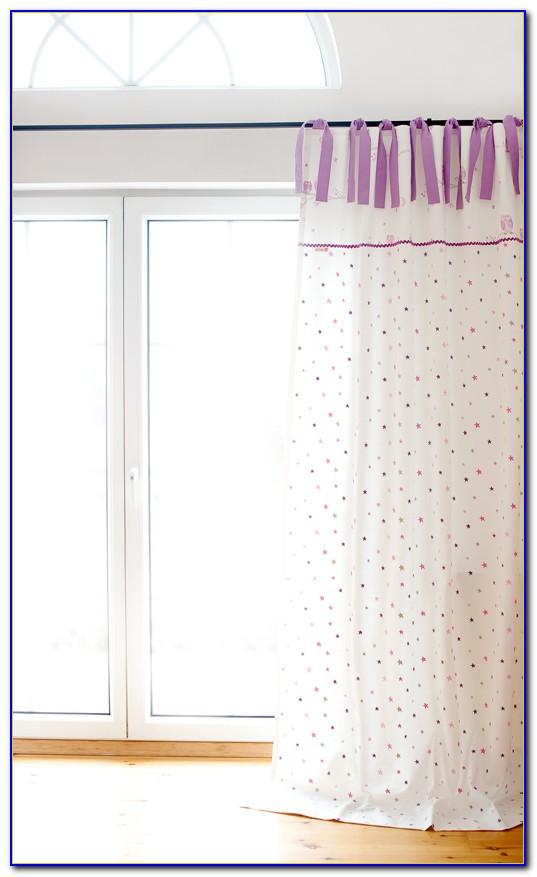 Vorhang Blickdicht Flieder