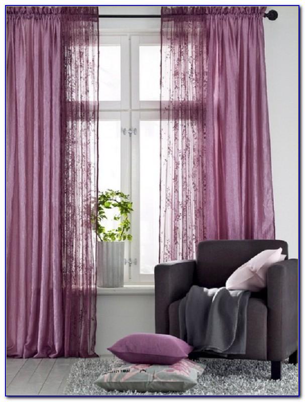 Vorhang Fliederfarben