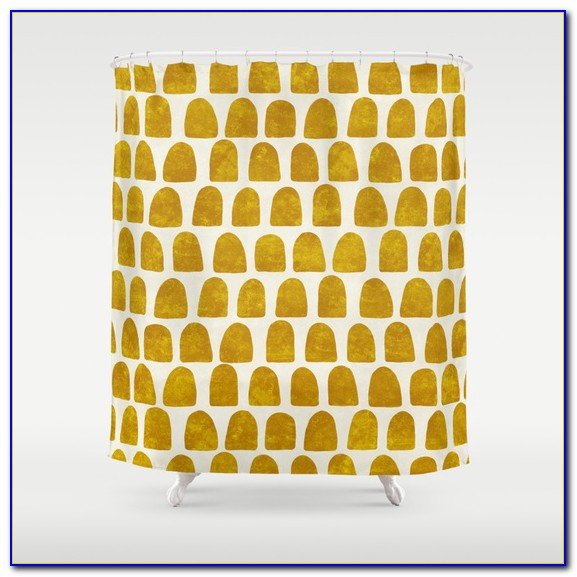 Vorhang Gelb Blickdicht