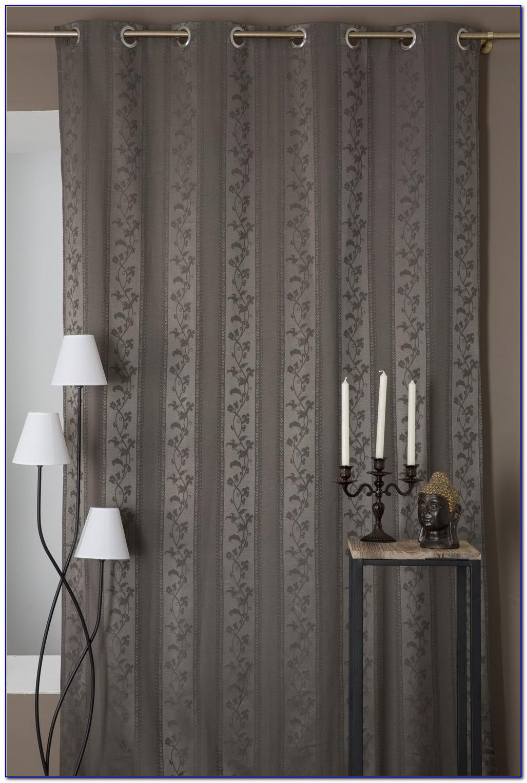 Vorhang Gestreift Grau Weiß