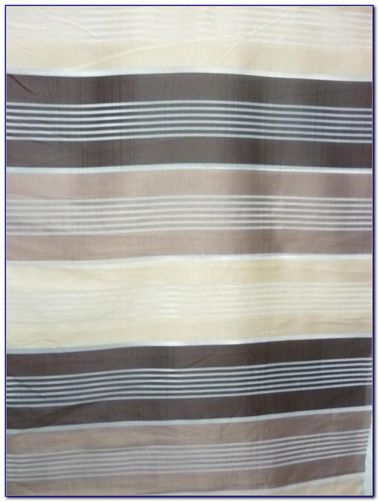 Vorhang Gestreift Grau