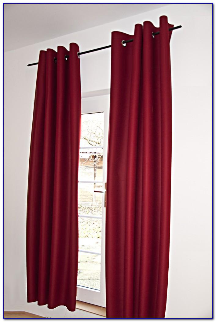 Vorhang Holzoptik