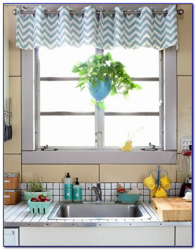 Vorhang Küchenfenster