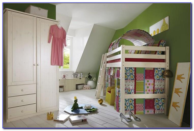 Vorhang Kinderhochbett Nähen