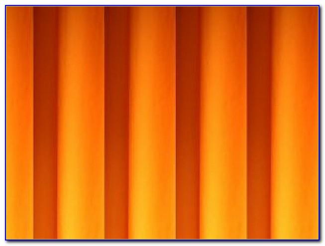 Vorhang Orange Gelb